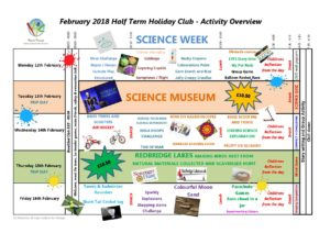 February 2018 Holiday Club