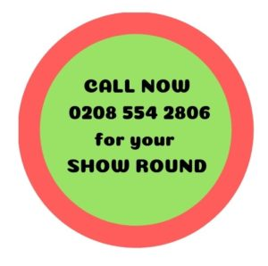 show round red-green